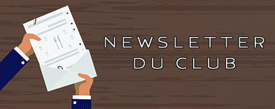 Newsletter du Club