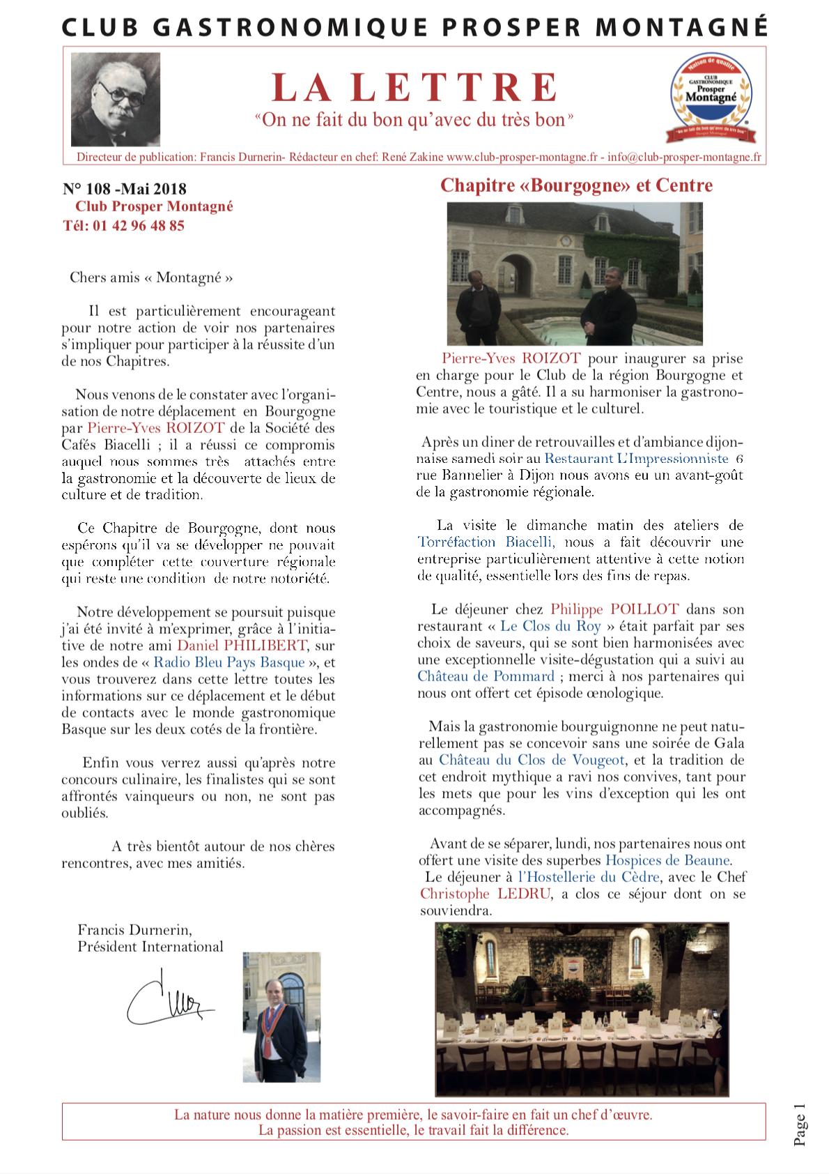 Newsletter mai